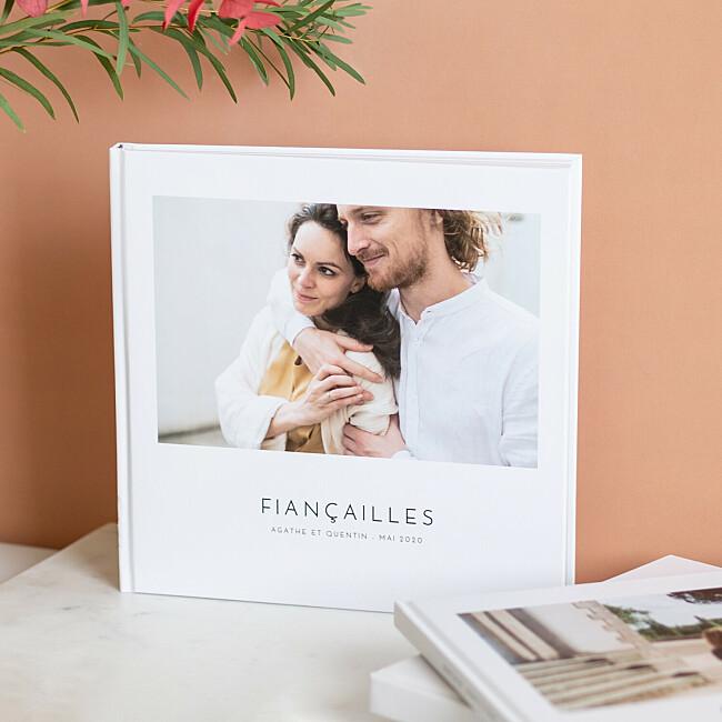 Album photo avec une couverture rigide imprimée
