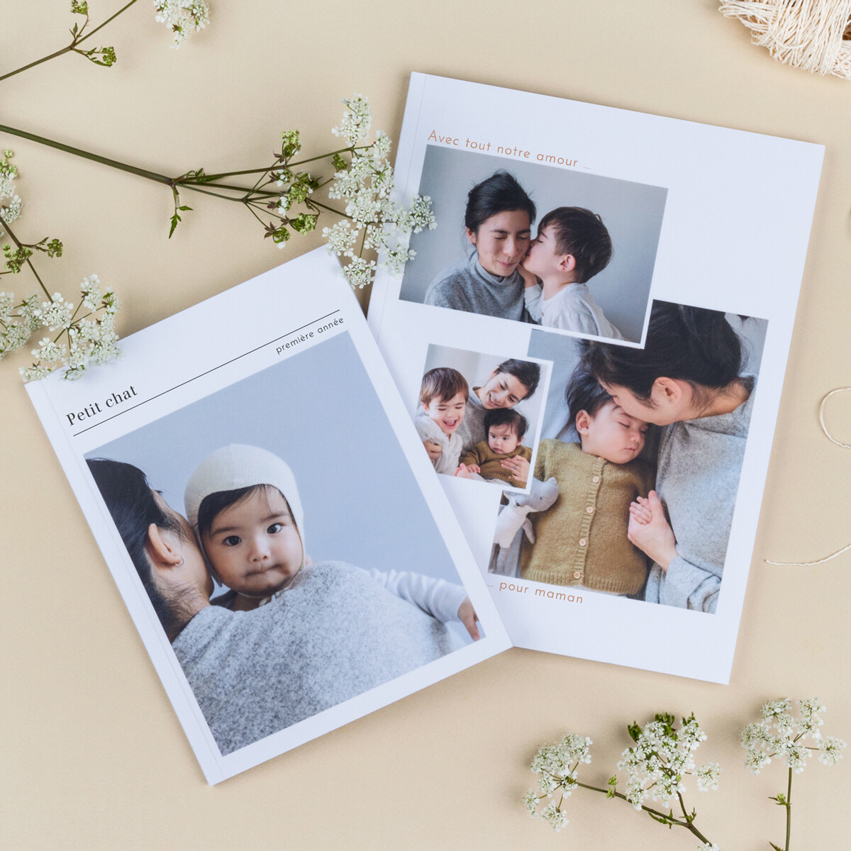 Un album photo pour la fête des mères