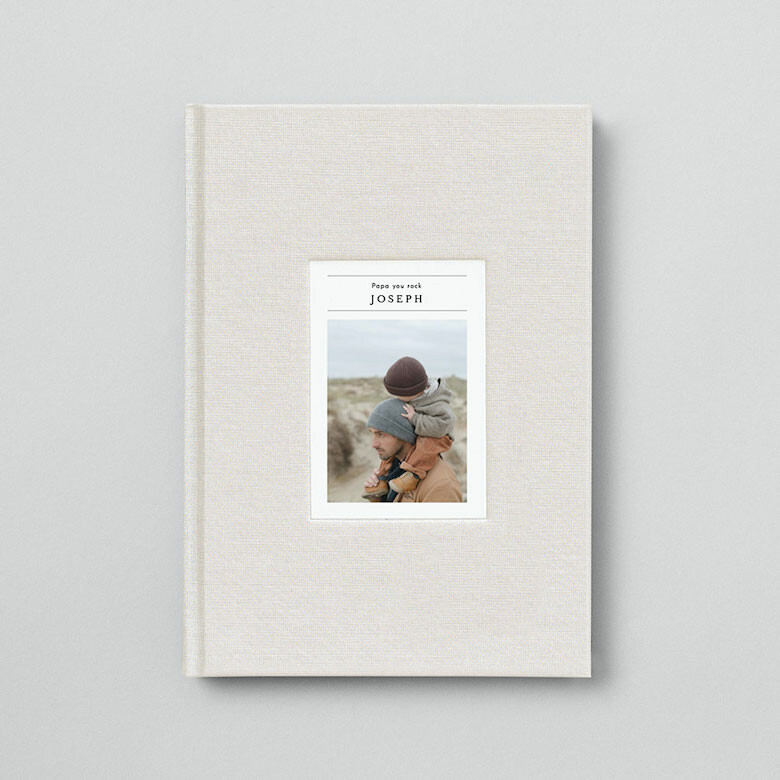 Carnet de dessin tissu photo