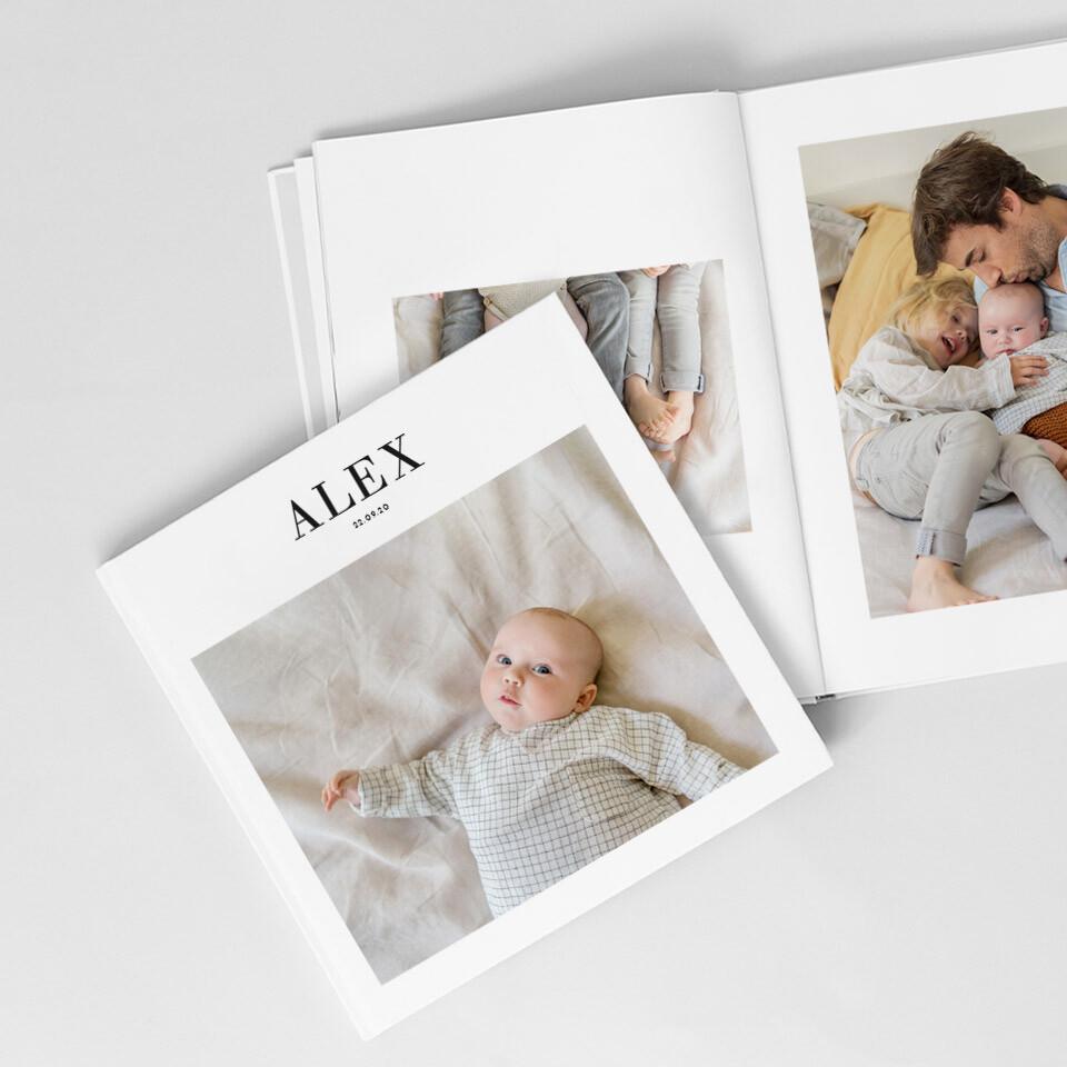 Album photo bébé