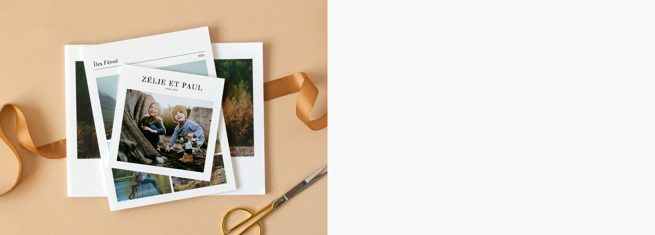 Idée cadeau album photo couverture souple