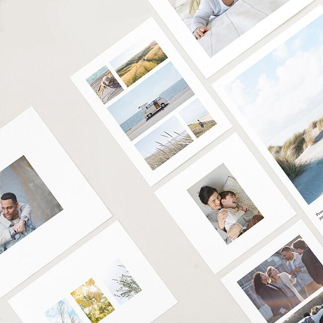 Nos formats de tirage photo premium