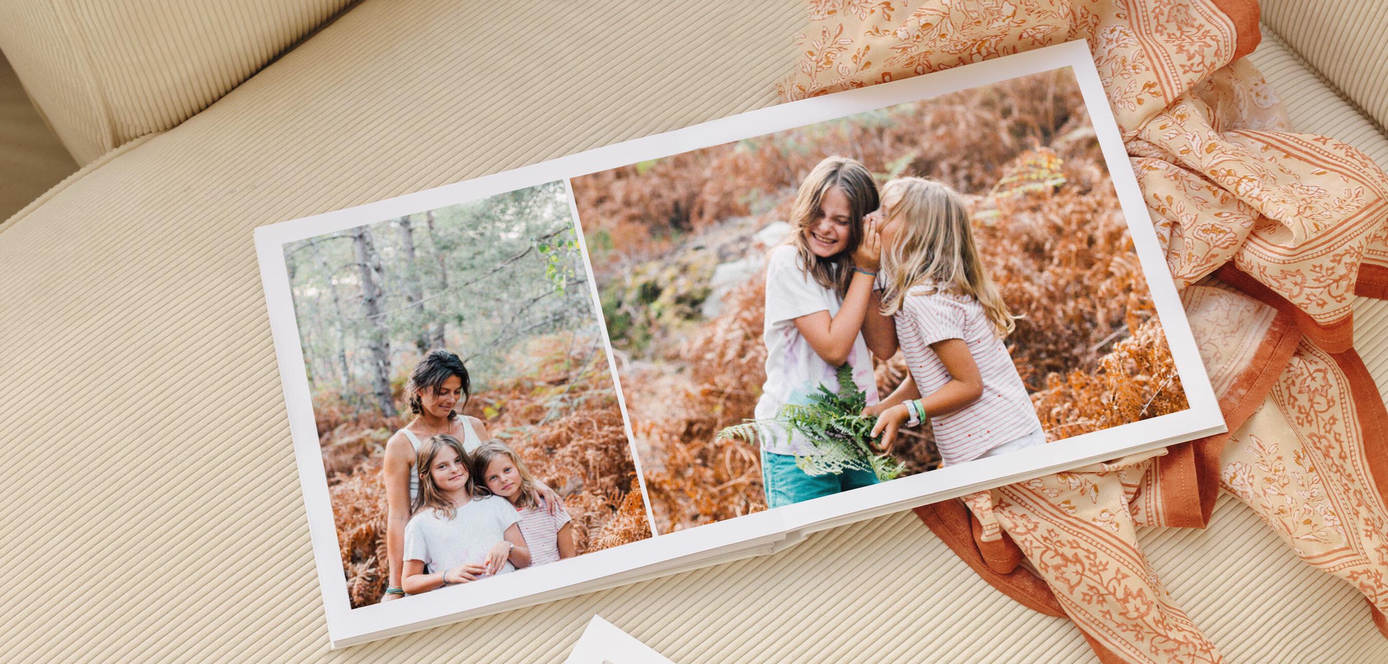 Album photo layflat pages intérieures