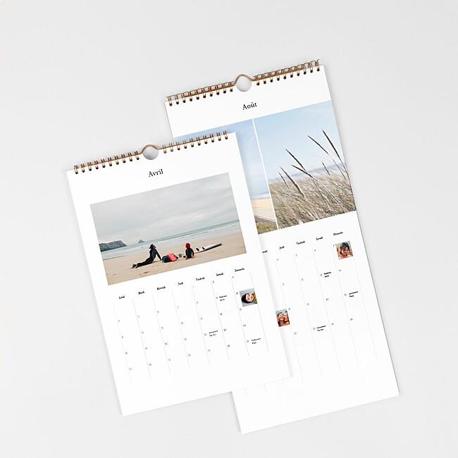 Couverture calendrier planning