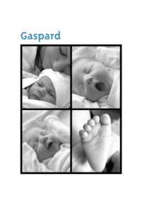 Faire-part de naissance Photo moderne canard