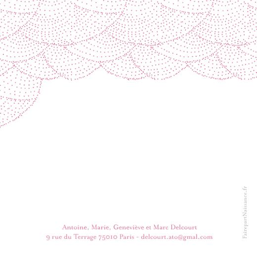 Carte de remerciement Petite délicatesse rose - Page 2