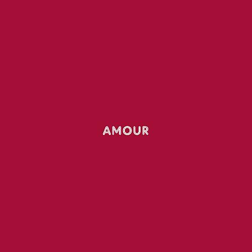 Faire-part de mariage Amour (4 pages) rouge
