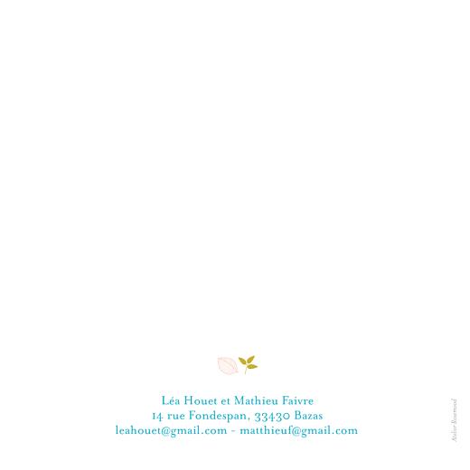 Faire-part de mariage Forêt bleu - Page 2