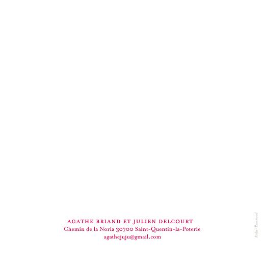 Faire-part de mariage O joy rose - Page 2