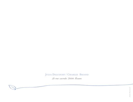 Faire-part de mariage Oiseaux bleuet - Page 4