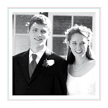 Carte de remerciement mariage Sweet blanc