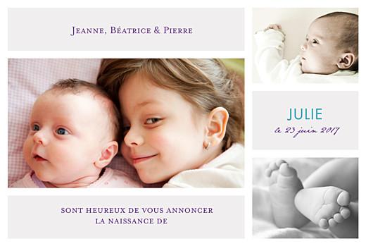 Faire-part de naissance 3-photos-gris-clair