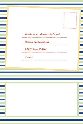 Carton réponse mariage Festivités portrait - Page 2