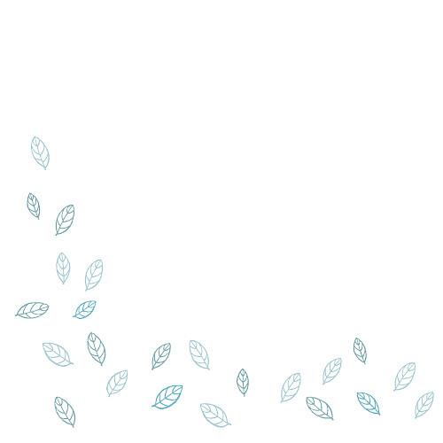 Faire-part de mariage Nature bleu