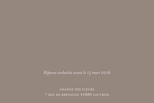 Carton d'invitation mariage Chic rose pâle - Page 2