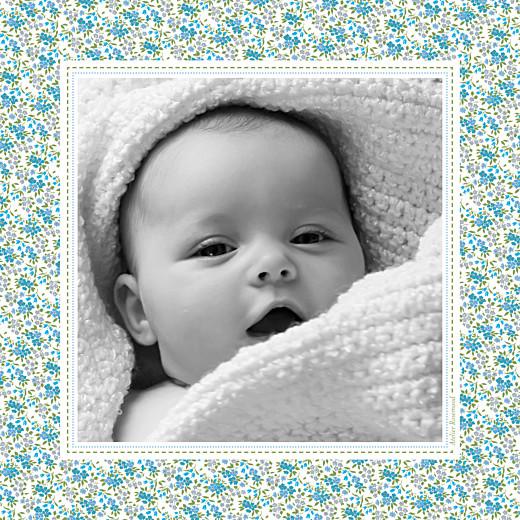 Faire-part de naissance Liberty photo rv bleu - Page 2