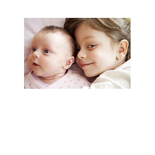 Faire-part de naissance Classique 9 photos blanc - Page 2