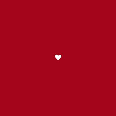 Carton d'invitation mariage Amour carré rouge finition