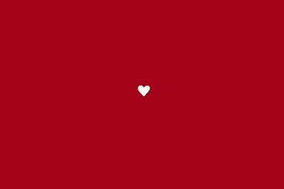 Carton réponse mariage Amour rouge finition