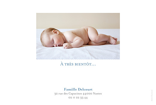 Faire-part de naissance Classique 6 photos paysage blanc - Page 4