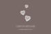 Carton réponse mariage Petits coeurs cappuccino - Page 1