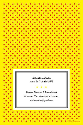 Carton réponse mariage Festival rouge - Page 2
