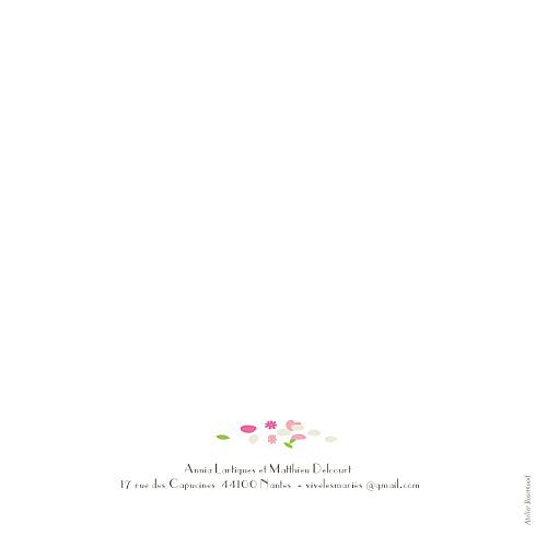 Faire-part de mariage Poupées russes fleurette - Page 4