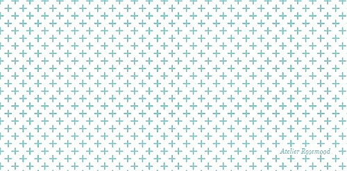 Marque-place mariage Motif chic turquoise - Page 2