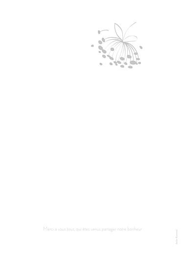 Livret de messe mariage Envolée blanc & gris - Page 4