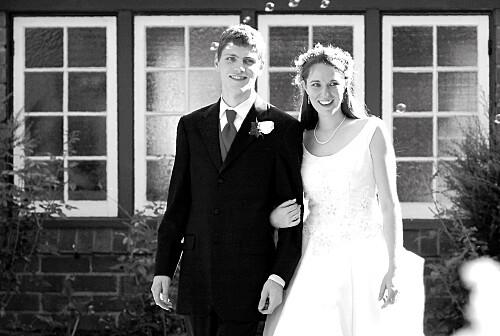 Carte de remerciement mariage Motif chic corail
