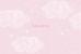Faire-part de naissance Nuage paysage 4 pages rose - Page 1