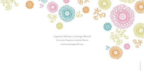 Faire-part de mariage Champetre multicolore - Page 4