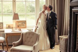 Carte de remerciement mariage Plein la vue ! (chevalet) blanc