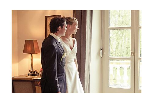 Carte de remerciement mariage Plein la vue ! (chevalet) blanc - Page 2