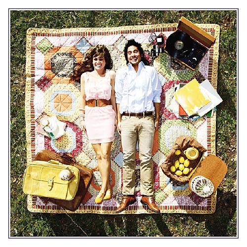 Carte de remerciement mariage Marrons-nous violet