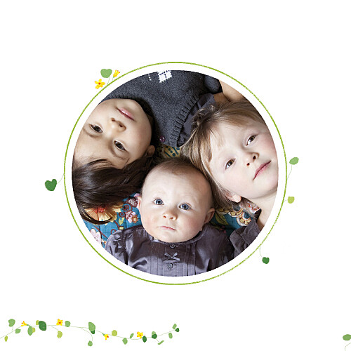 Faire-part de naissance Capucine photo jaune - Page 2