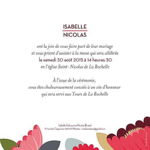Faire-part de mariage Jardin bohème vert - Page 2