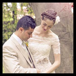 Carte de remerciement mariage Souvenir 1 photo noir
