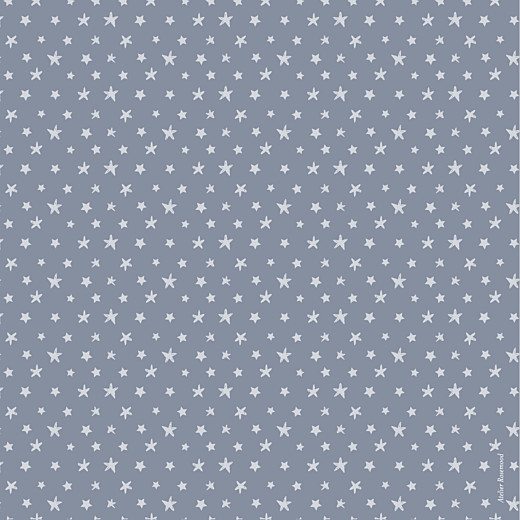 Faire-part de naissance Nuit étoilée 2 photos bleu gris - Page 4