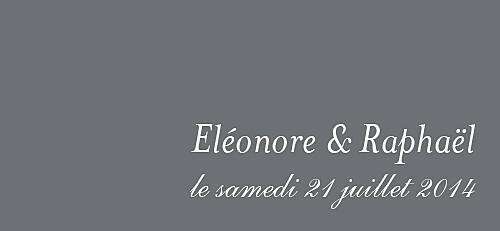 Etiquette perforée mariage Elégant gris foncé
