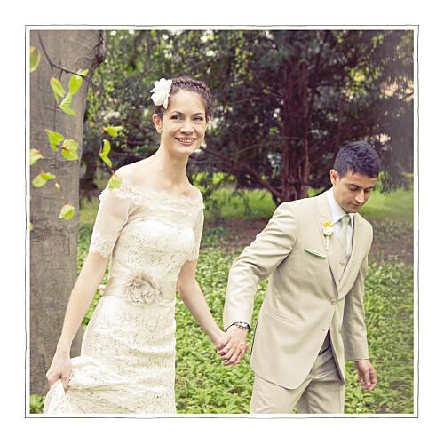 Carte de remerciement mariage A cup of tea 3 photos corail - Page 2