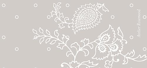 Etiquette de mariage Plumetis taupe gris - Page 2
