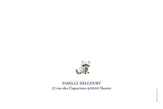 Faire-part de naissance Conte d'hiver photo bleu - Page 4