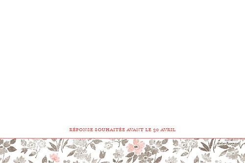Carton réponse mariage A cup of tea corail - Page 2