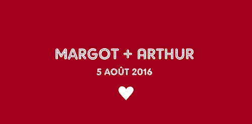 Marque-place mariage Amour rouge - Page 4