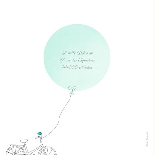 Faire-part de naissance À bicyclette (1 enfant) photos vert - Page 4