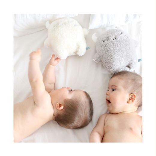 Faire-part de naissance Jumeaux 6 photos blanc - Page 2
