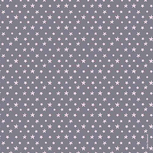 Faire-part de naissance Jumeaux nuit étoilée gris et rose pâle - Page 4