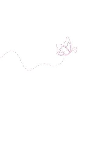 Menu de baptême Papillon prune - Page 2