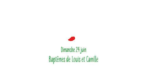 Marque-place Baptême Coquelicot rouge - Page 4